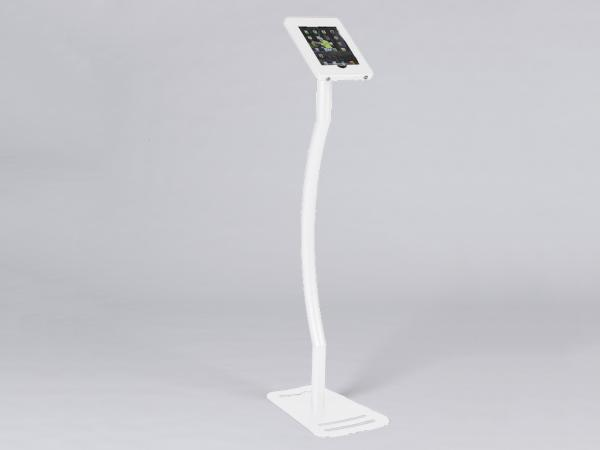 MOD-1339 Portable iPad Kiosk -- White