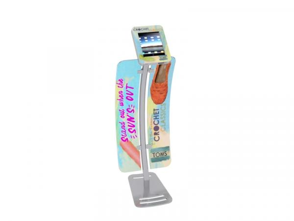 MOD-1336 iPad Kiosk with Graphics
