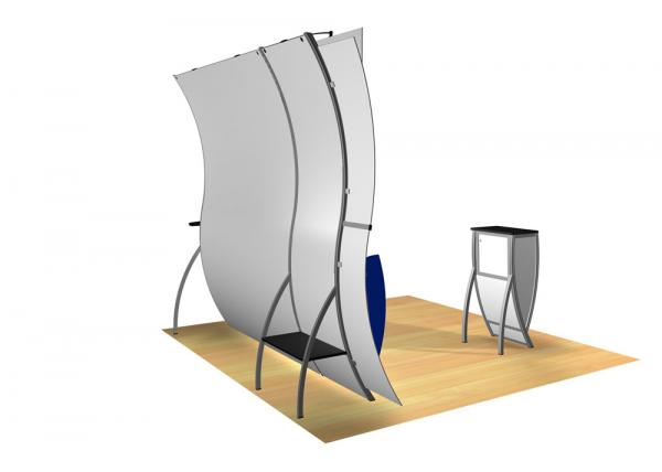 Perfect 10 VK-1508 Portable Hybrid Trade Show Display -- Image 4