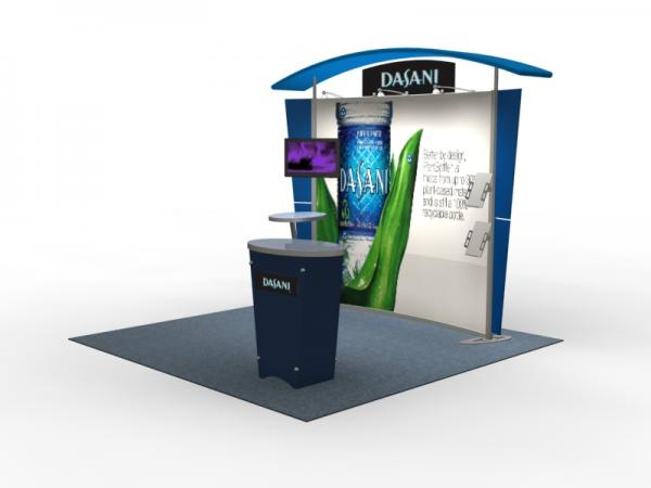 VK-1303 Trade Show Exhibit with Silicone Edge Graphics (SEG) -- Image 2