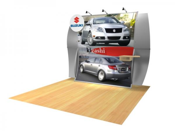 Perfect 10 VK-1511 Portable Hybrid Trade Show Display -- Image 3