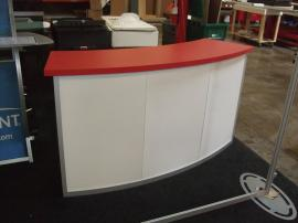 MOD-1185 Modular Counter with Locking Doors and Shelves -- Image 1