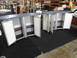 MOD-1183 Modular Counters with Locking Doors -- Image 2