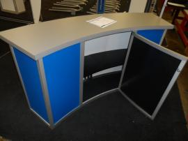 MOD-1185 Modular Counter with Locking Storage and Front Graphic -- Image 3