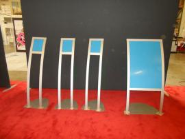 Custom Aluminum Extrusion Retail Sign Holders in Multiple Sizes -- Image 2