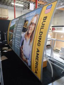 VK-2091 Magellan Miracle Portable Hybrid Display with Tension Fabric Graphics -- Image 2