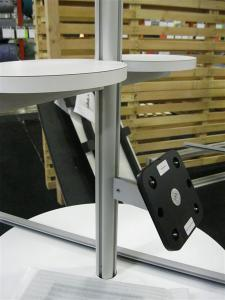 Modified ECO-9K with Solid Laminated Storage Base, Locking Door, Internal Shelf and Adjustable iPad Mount -- Image 3