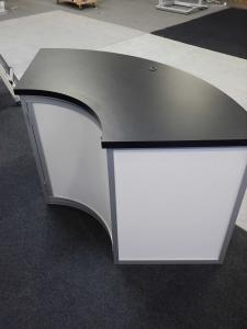 RE-1205 Large Curved Reception Counter