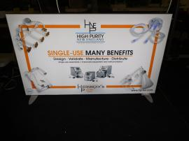 Custom Table Top Lightbox. Both with Tension Fabric Graphics