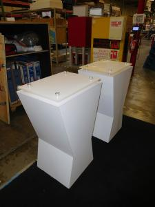 MOD-1325 Counters with Locking Storage and Internal Shelf
