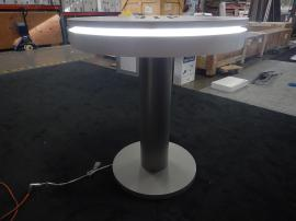 RENTAL: RE-704 Charging Station Table with Top Surface Graphic and LED Perimeter Lights
