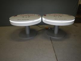 RE-702 Rental Charging Table with Graphics
