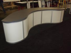 Custom Modular Curved Counter -- Image 1