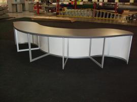 Custom Modular Curved Counter -- Image 2