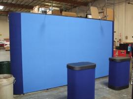 Straight Quadro S Pop Up Display with Fabric Panels -- Image 1