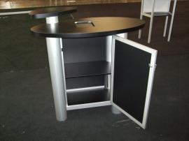 MOD-1184 Modular Pedestal with MOD-211 iPad Insert Option -- Image 4