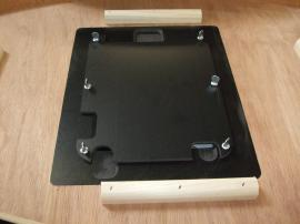 MOD-1184 Modular Pedestal with MOD-211 iPad Insert Option -- Image 6