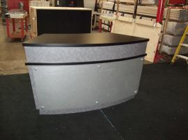 Custom Fully-assembled Counter with Locking Storage --Image 1