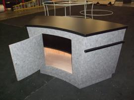 Custom Fully-assembled Counter with Locking Storage --Image 2