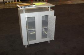 LTK-1121 Modular Laminate Counter with Locking Storage