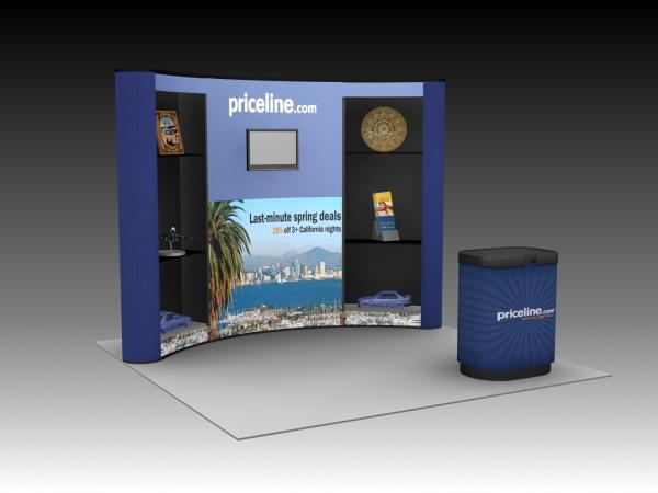QD-118 Trade Show Pop-up Display -- Image 1