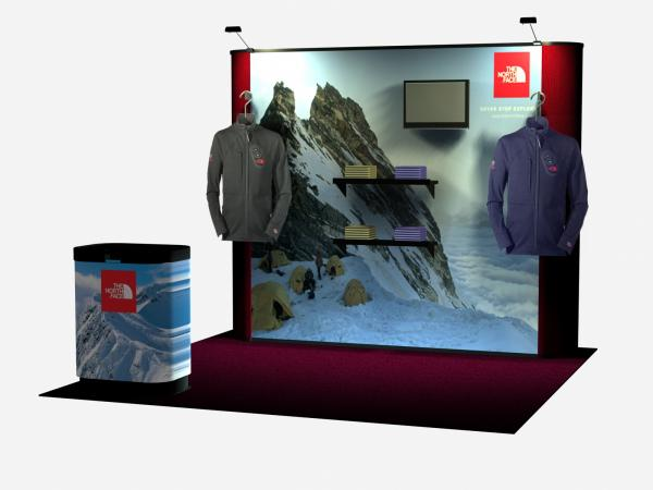 QD-132 Trade Show Pop Up Exhibit -- Image 1