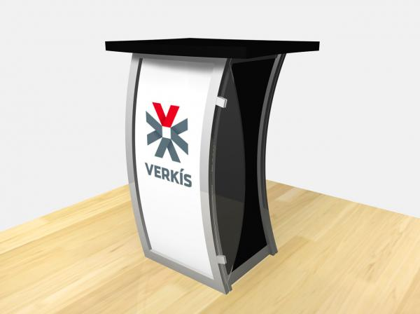RE-1209 Trade Show Pedestal -- Image 4