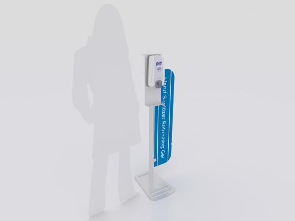 MOD-9001 Hand Sanitizer Stand with Graphic