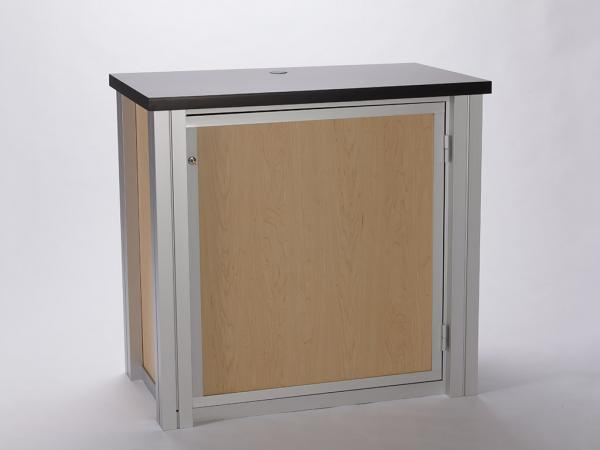 RE-1202 Rental Display / Rectangular Counter / Workstation -- Image 4