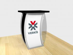 RE-1209 Trade Show Pedestal -- Image 1