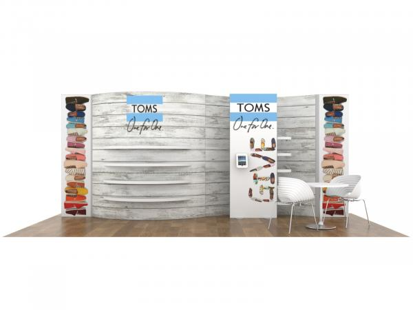 RENTAL | RE-2112 Sustainable Tradeshow Inline Display -- Image 1