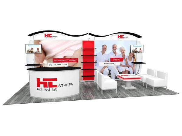 RE-2097 Trade Show Inline Exhibit -- Image 1