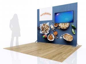 RE-1080 SEGUE Inline Exhibit with Fabric Graphic -- Image 2