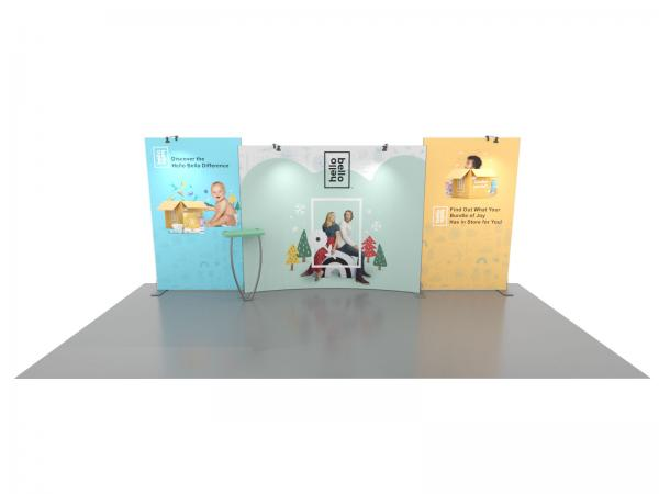 SYK-2010 Symphony Portable Displays -- SEG Press Fit Fabric Graphics