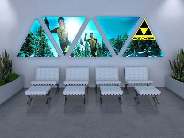 SuperNova LED Lightboxes -- Lobby