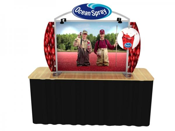 VK-0002 Portable Hybrid Trade Show Table Top Exhibit -- Image 2