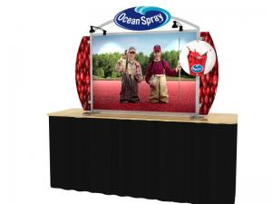 VK-0002 Portable Hybrid Trade Show Table Top Exhibit -- Image 1
