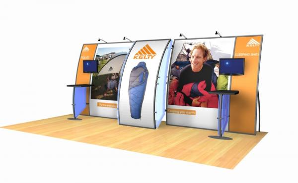 VK-2045 Trade Show Exhibit -- Image 1